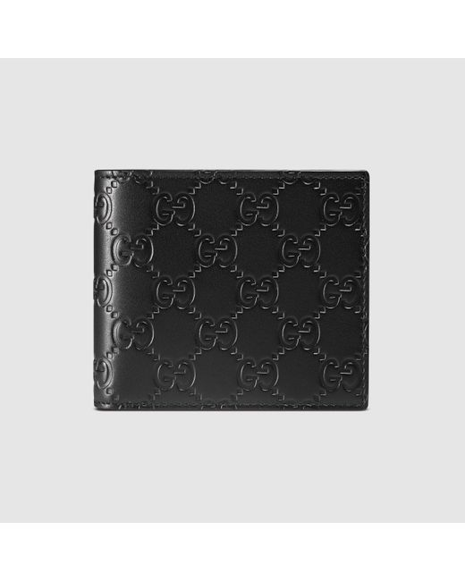 bbd4b5053720af Gucci Signature Web Wallet With Id Window   Stanford Center for ...