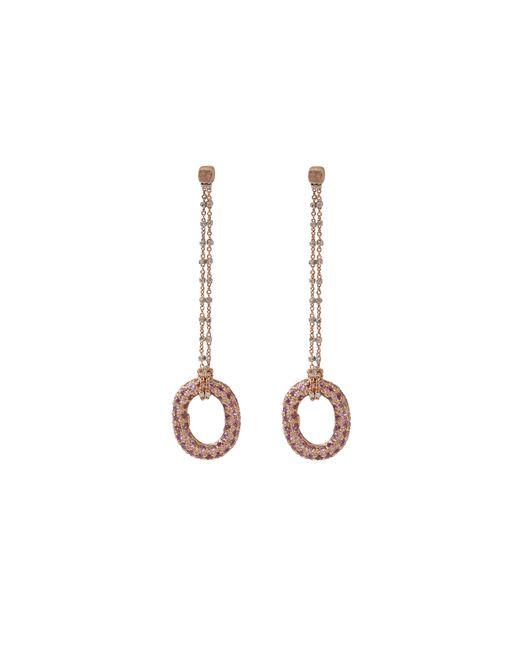 Carolina Bucci | 1885 Pink Sapphire Link Earrings | Lyst