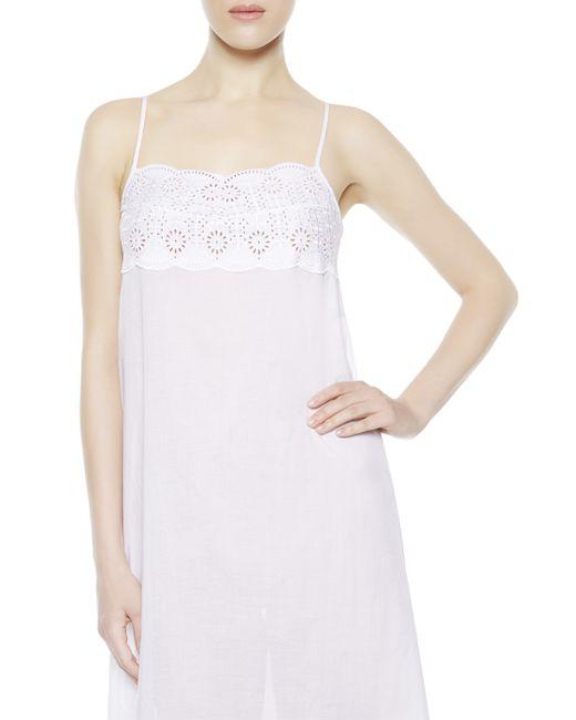 La Perla | White Night Dress | Lyst