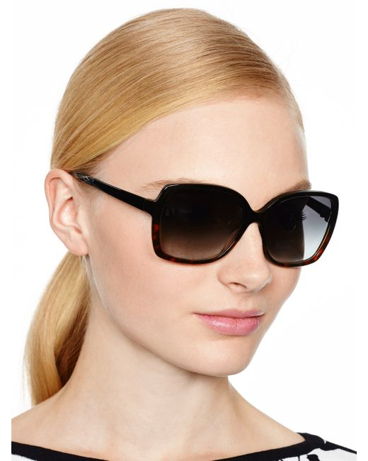 Kate Spade | Black Darilynn Sunglasses | Lyst