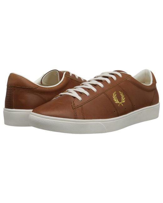 Fred Perry   Brown Spencer Leather for Men   Lyst