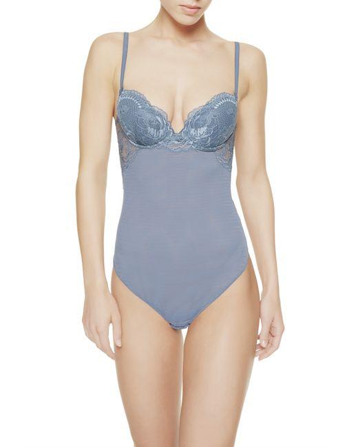 La Perla | Blue Bodysuit | Lyst