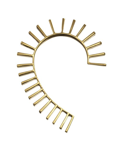 Yael Salomon | Metallic Ella 02 Gold Ear Cuff | Lyst