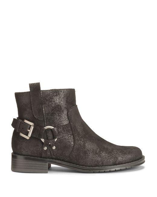 Aerosoles | Black Sweet Ride Distressed Boots | Lyst