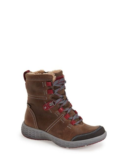 Cobb Hill | Brown 'freshexcite' Waterproof Lace-up Boot | Lyst