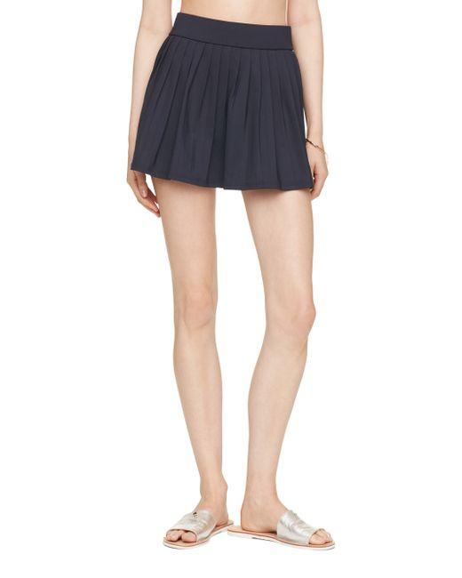 kate spade new york | Blue Georgica Beach Pleated Skirt Cover Up | Lyst