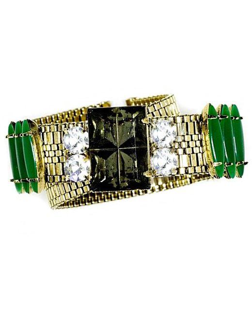 Nicole Romano | Green Tingzhe Bracelet | Lyst