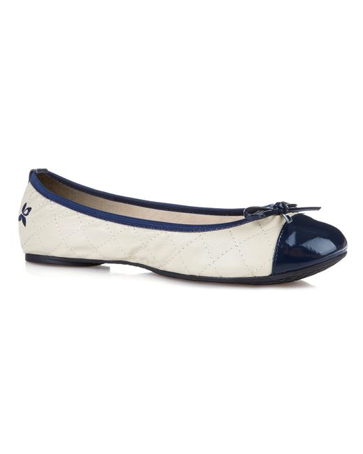 Butterfly Twists | Blue Olivia Foldable Ballerina Pumps | Lyst