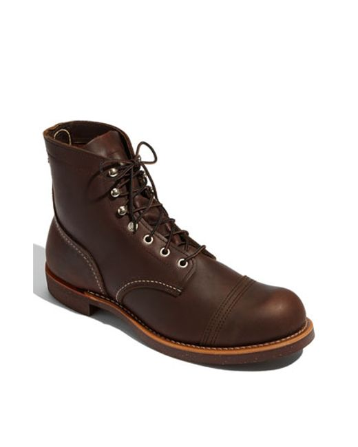 Red Wing | Brown 'iron Ranger' 6 Inch Boot for Men | Lyst
