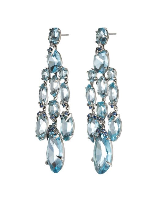 Alexis Bittar | Blueberry Marquis Chandelier Earring You Might Also Like | Lyst