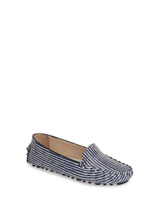 Cole Haan | Blue 'cary Venetian' Driving Moccasin | Lyst