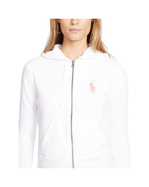 Pink Pony | White Pink Pony Full-zip Hoodie | Lyst