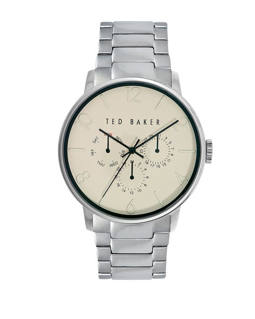 Ted baker mens smart casual stainless steel chronograph
