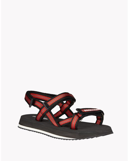 DSquared² | Red Sandals for Men | Lyst
