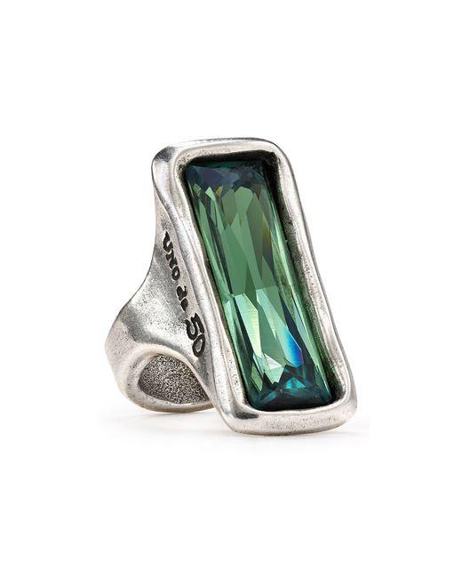 Uno De 50 | Metallic Aurora Borealis Ring | Lyst