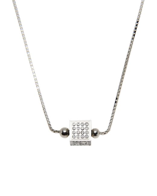 Fendi | Metallic Necklace | Lyst