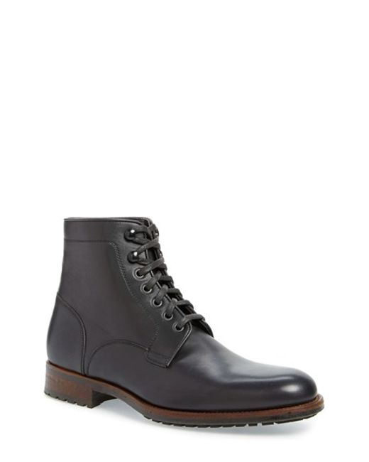 Saks Fifth Avenue | Brown 'marcelo' Plain Toe Boot for Men | Lyst