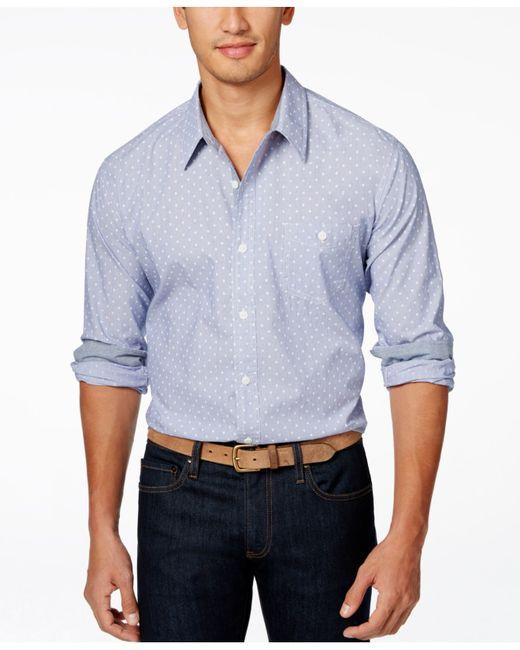 Weatherproof vintage long sleeve printed woven shirt in for Weatherproof vintage men s lightweight flannel shirt