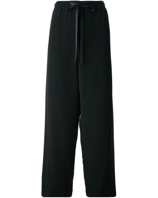 Marc Jacobs | Black Wide Leg Trousers | Lyst