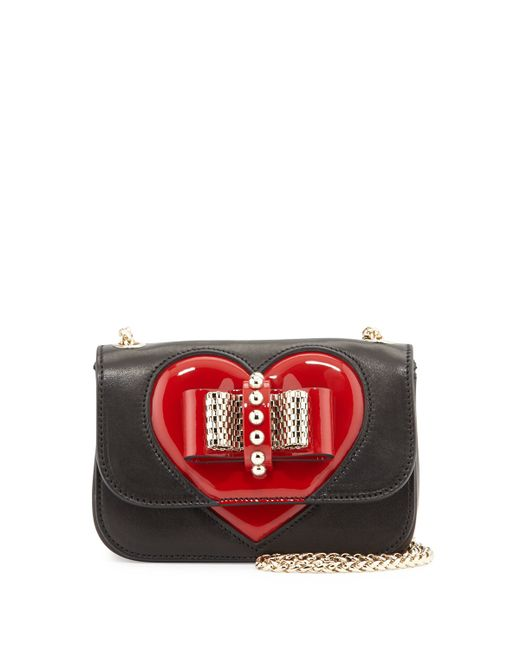 Christian Louboutin | Red Sweety Charity Valentine Shoulder Bag | Lyst