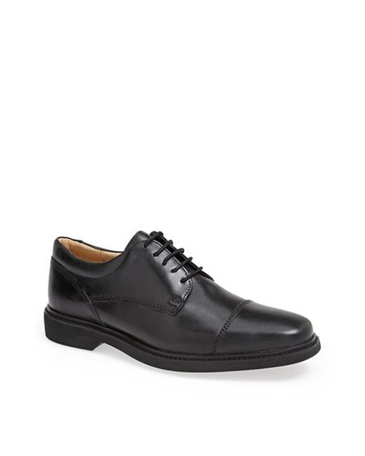 Anatomic & Co | Black Giovane Cap Toe Derby for Men | Lyst