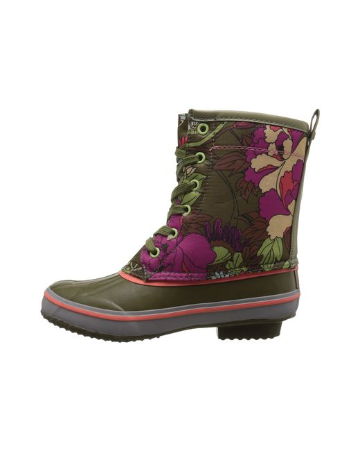 The Sak | Green Duet Duck Rain Boots | Lyst