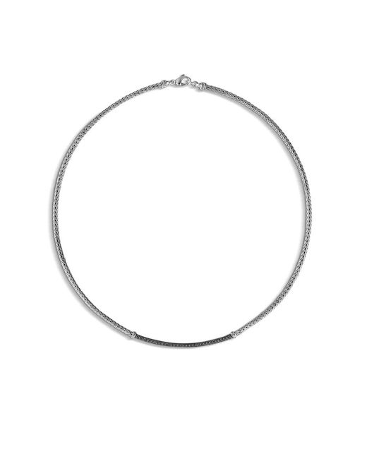 John Hardy | Metallic 'classic Chain' Collar Necklace | Lyst