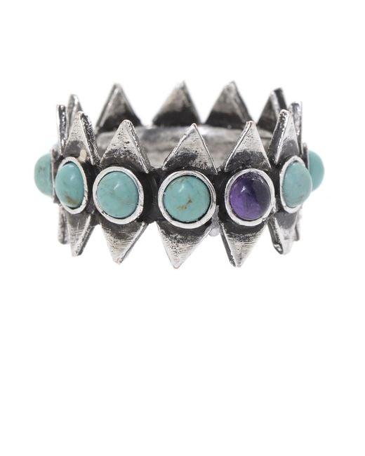Jill Golden   Blue Reflection Infinity Ring   Lyst