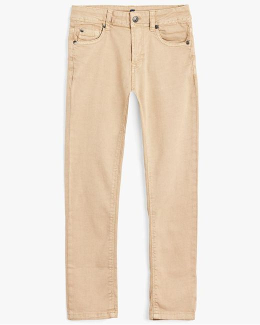7 For All Mankind - Natural Boy's 8-16 Paxtyn In Stone for Men - Lyst