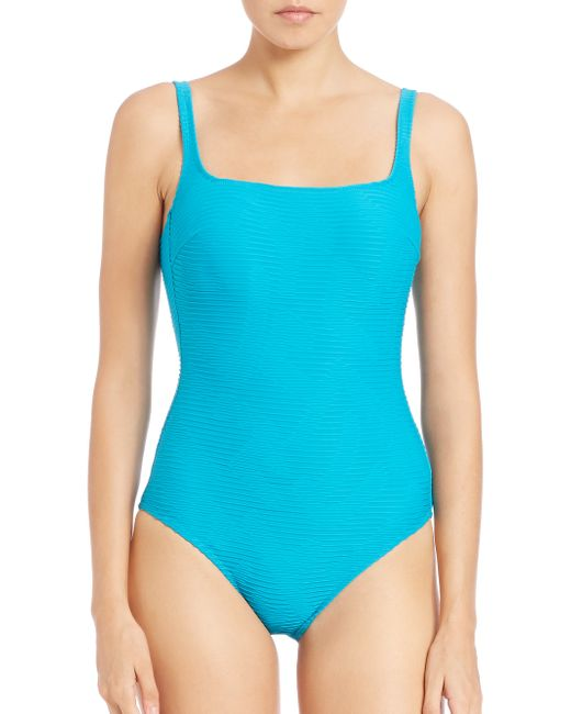 Gottex | Blue One-piece Tank Swimsuit | Lyst
