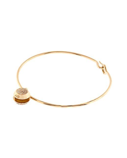 Aurelie Bidermann | Metallic Diamond & Yellow-Gold Bracelet | Lyst