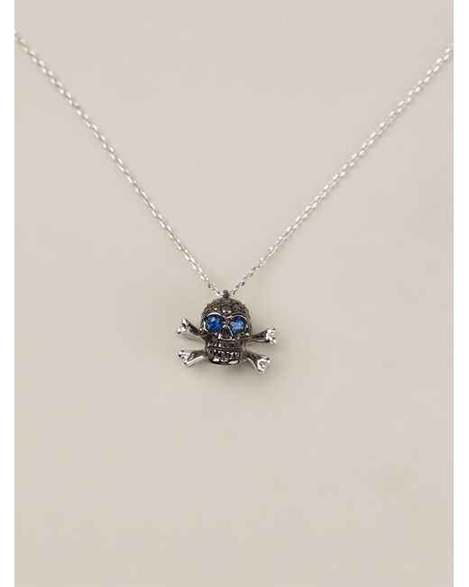 Christian Koban | Black 'skull' Diamond Necklace | Lyst