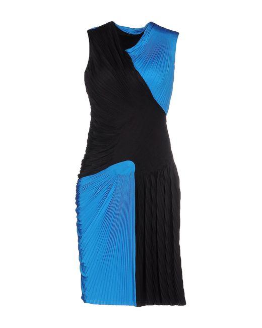 Alexander Wang | Blue Short Dress | Lyst