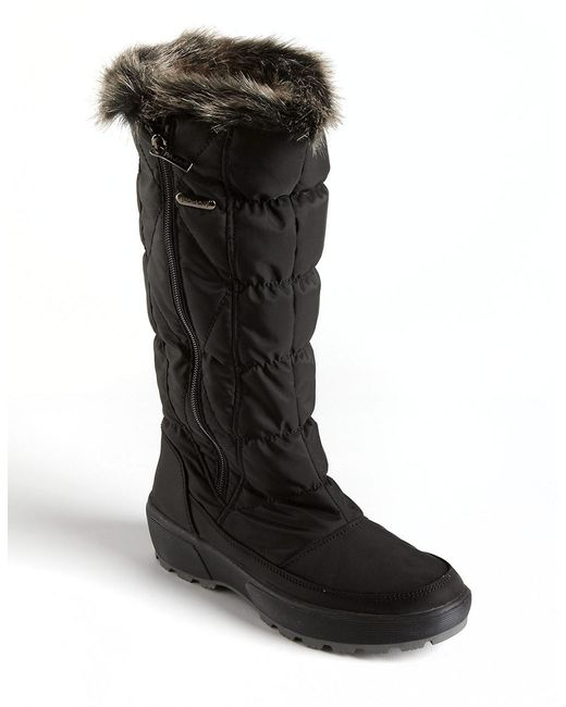 Pajar | Alexandra Snow Boot Black Fabric | Lyst