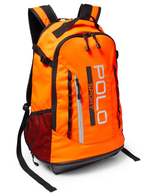 Polo ralph lauren Polo Sport Backpack in Orange for Men ...