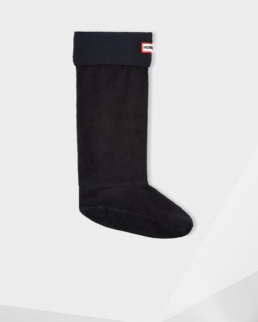 Hunter   Multicolor Garter Stitch Cuff Boot Socks   Lyst