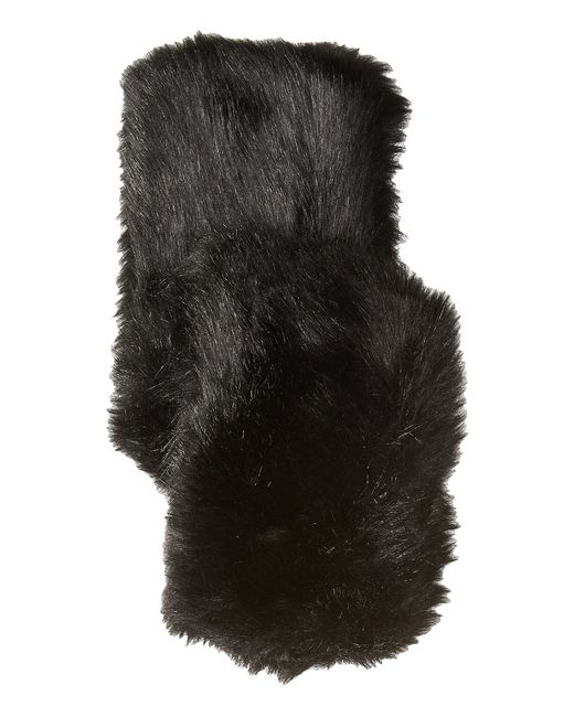 Hat Attack | Black Faux Fur Long Collar | Lyst