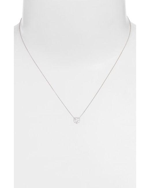 Bony Levy | Metallic 'aura' Diamond Disc Pendant Necklace (nordstrom Excusive) | Lyst