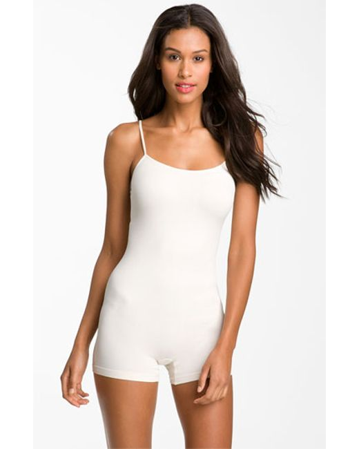 Free People | White Seamless Romper | Lyst