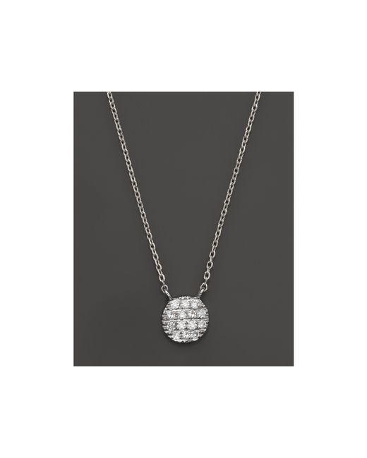 Dana Rebecca | Metallic 14k White Gold Lauren Joy Mini Necklace With Diamonds | Lyst