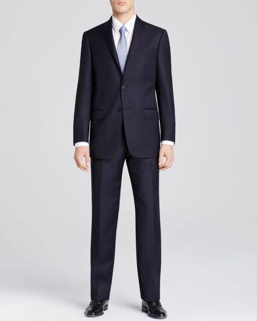 Hart Schaffner Marx   Blue Platinum Label New York Solid Classic Fit Suit - Bloomingdale's Exclusive for Men   Lyst
