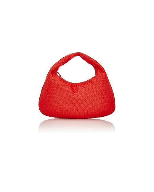 Bottega Veneta | Red Intrecciato Large Hobo | Lyst