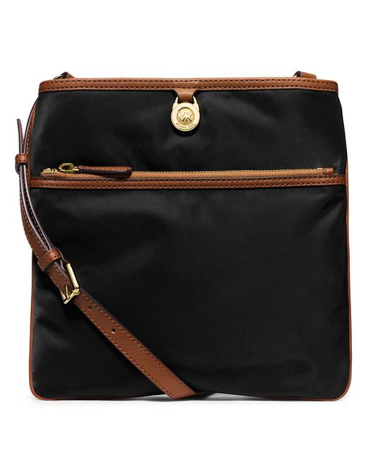 MICHAEL Michael Kors   Black Kempton Large Crossbody Bag   Lyst
