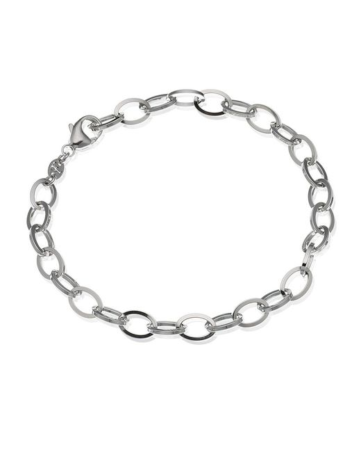 Theo Fennell | White Gold Outline Link Bracelet | Lyst