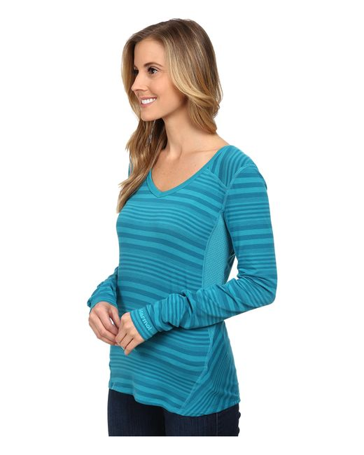 Marmot | Blue Julia Long Sleeve | Lyst