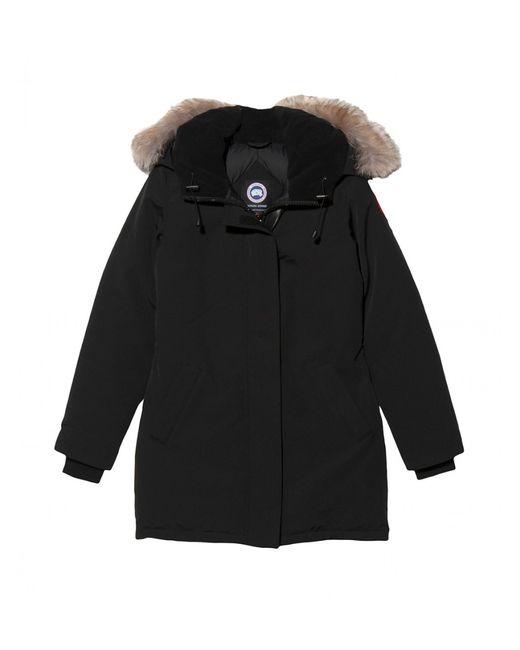 Canada Goose kids online shop - Canada goose Victoria Parka in Black | Lyst