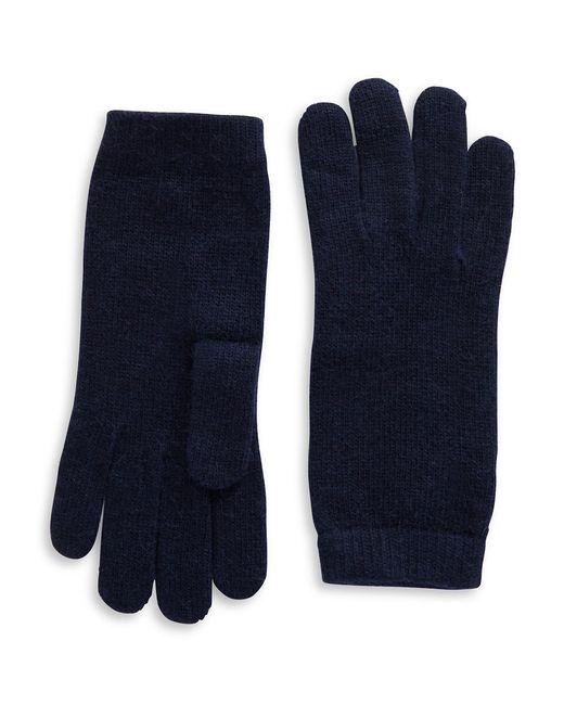 Portolano | Blue Luxe Knit Cashmere Blend Gloves | Lyst