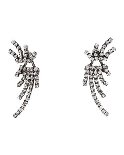 DANNIJO | Metallic Willis Ear Jacket Earrings | Lyst