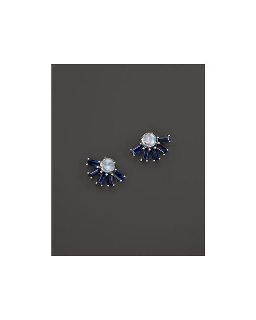Dana Rebecca | Blue Kristyn Kylie Stud Earrings | Lyst