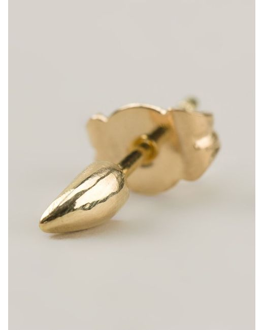 Wouters & Hendrix | Metallic 18kt Yellow Gold Claw Earring | Lyst